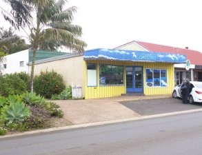 Central Commercial Building on Norfolk Island