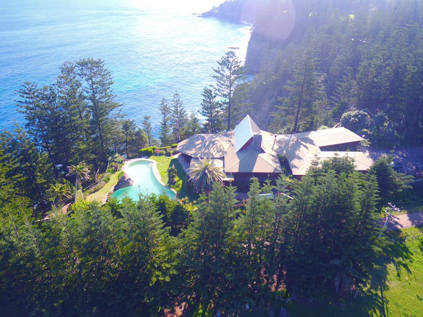 Secluded Norfolk Island Mansion
