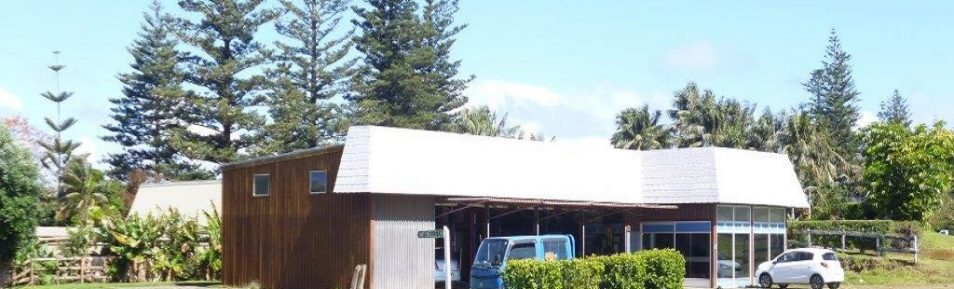 Large Commercial Building on Norfolk Island